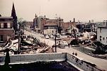 Name: Looking west down Lochiel St. from Brock after tornado May 21, 1953 by snap-happy1.jpg    