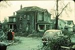 Name: Stewart's Funeral Home, Sarnia, ON, after the tornado 1953 by snap-happy1.jpg    
