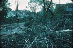 Name: Looking north on College Avenue from George St. following tornado of 21 May 1953 by snap-happy1.jpg    