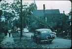 Name: Looking west down George St. from Euphemia St. after the tornado of 21 May 1953 by snap-happy1.jpg    