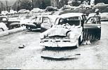 Name: Vehicle crush by debris in the tornado of 21 May 1953 by snap-happy1.jpg    