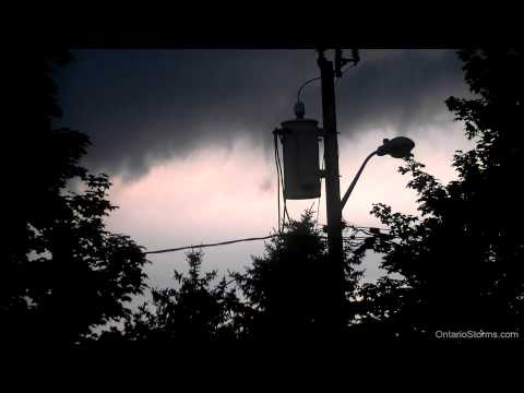 Jul.23/2013: Severe thunderstorm clouds...