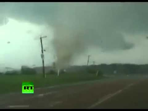 DRAMATIC FOOTAGE-Tornados kill hundreds in the...