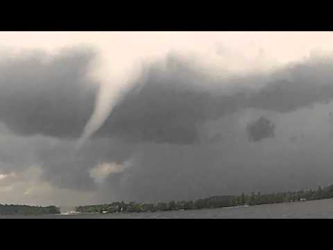 Tornado on Bear Lake (Ontario) 06/30/14