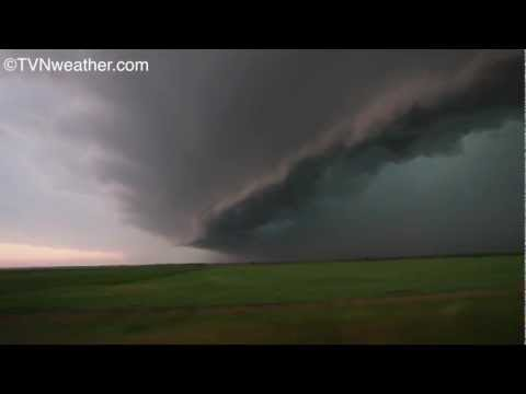 Tornadoes and mothership supercells in...