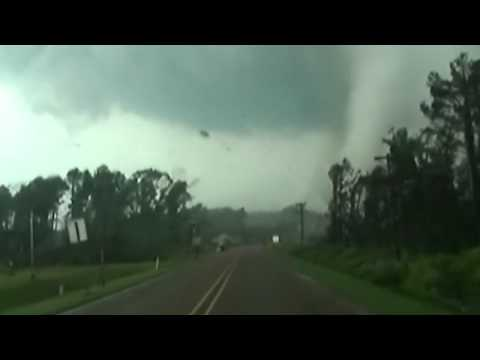 Tornado rips through the Deep South