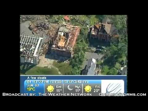 Massachusetts tornado damage from June 1, 2011