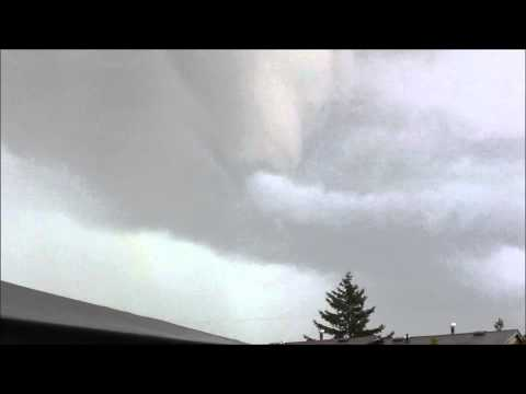 Funnel Cloud  / Partial Tornado - Ottawa July...