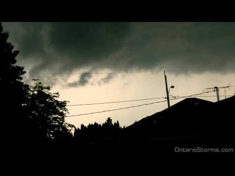 Jun.17, 2014 - Severe thunderstorm time-lapse...