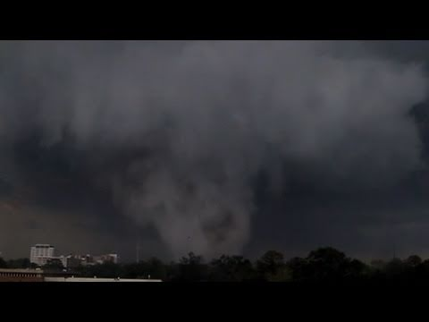 Tuscaloosa, Alabama Terrorized by Tornadoes,...