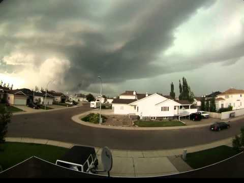 Lethbridge Thunderstorm July 17 2013